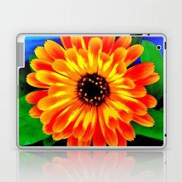 Orange Marigold Laptop & iPad Skin