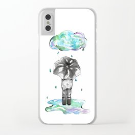 It's the Rain Clear iPhone Case