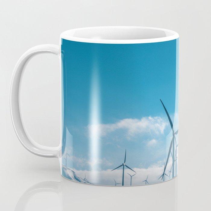 The Wind Farm (Color) Coffee Mug