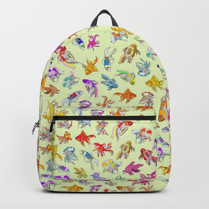 Fish Swimming in Sea Backpack