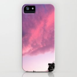 Color Bomb Sunset iPhone Case