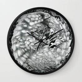 Lizard Dot Illustration Wall Clock