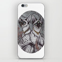 Gift of Sight art print iPhone Skin