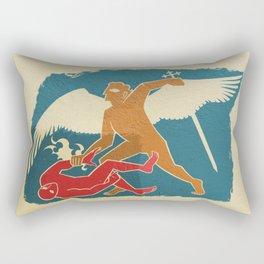 St Michael the Archangel Rectangular Pillow