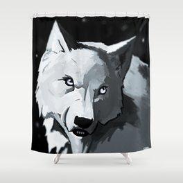Wolf 4 Shower Curtain