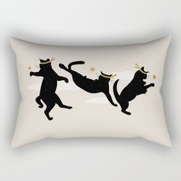 Ninja Cats I. Rectangular Pillow