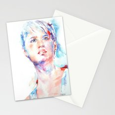 Eyes of Blue . . . portrait Stationery Cards