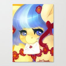Letter to Rarity Canvas Print