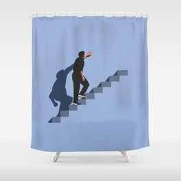 How's it going to end ? Shower Curtain