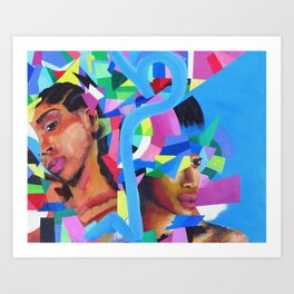 Through and Through Art Print