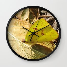 Mid-December Lines Wall Clock