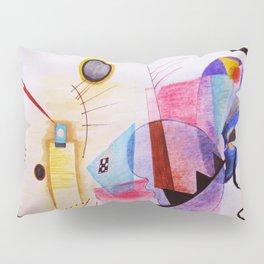 inspiration from Kandinsky . artwork Pillow Sham