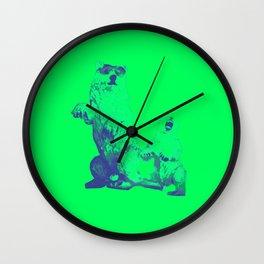 Ours Republique green Wall Clock