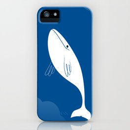 Flying Whale iPhone Case