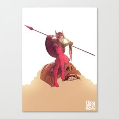 Athena Fully Formed Canvas Print