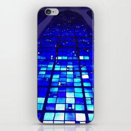 Shades of Heaven in Blue iPhone Skin