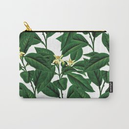 Evergreen floral flower herbal #society6 Carry-All Pouch