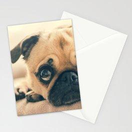 sad dog Stationery Cards