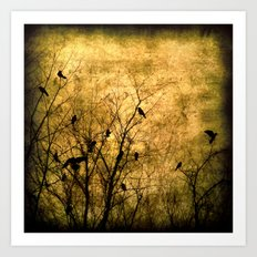 The Raven's Song Art Print