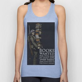 Books Wanted Unisex Tank Top