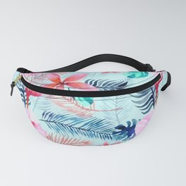 Tropical digital paper - mother's day Fanny Pack