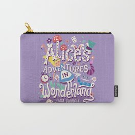 Alice's Adventures in Wonderland - Lewis Carroll Carry-All Pouch