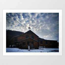 The Abandoned Dairy Art Print