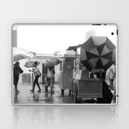 Rainy Day in Lower Manhattan Laptop & iPad Skin