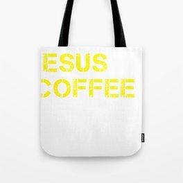Jesus, Coffee & Kimchi Tote Bag