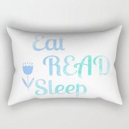 Eat.Read.Sleep Rectangular Pillow