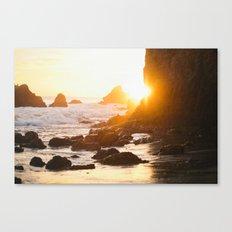 El Matador Sunset Canvas Print