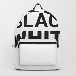 Black & White-ish Backpack