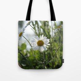 Irish daisy Tote Bag