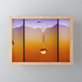 Snow Melt Framed Mini Art Print