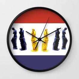 french venus colors Wall Clock
