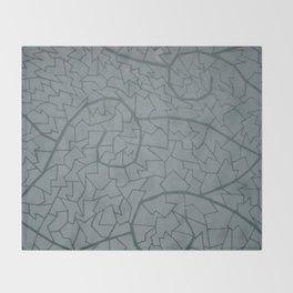mosaic waves Throw Blanket