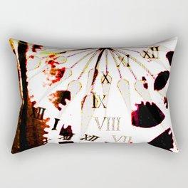 Clock 2 Rectangular Pillow