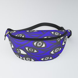 Freddie Eyeballs Sapphire Blue Fanny Pack
