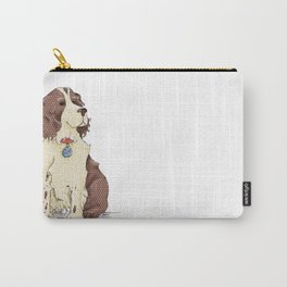 Springer Spaniel - It's a dog's Life Happy Birthday Carry-All Pouch