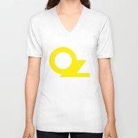 oz V-neck T-shirts featuring OZ by Popp Art