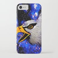 eagle iPhone & iPod Cases featuring Eagle by Saundra Myles