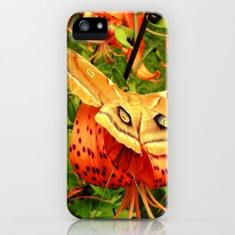 Vivid Moth iPhone Case