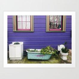 Outhouse Art Print