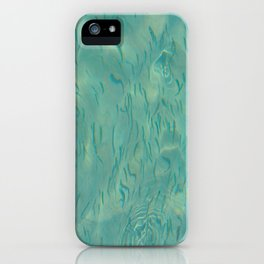 Swimming in the Clear Tropical Water iPhone Case