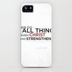Philippians 4:13 II Slim Case iPhone (5, 5s)
