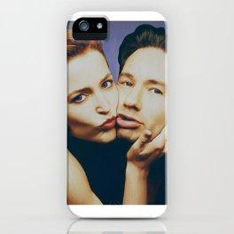 The Schmoopies - Gillian and David iPhone Case