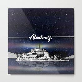 Alcatraz Metal Print