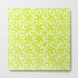 Citrus Floral Metal Print