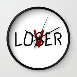 IT Loser Lover Wall Clock