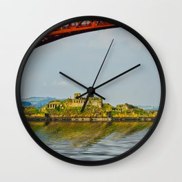 Inchgarvie Island Wall Clock